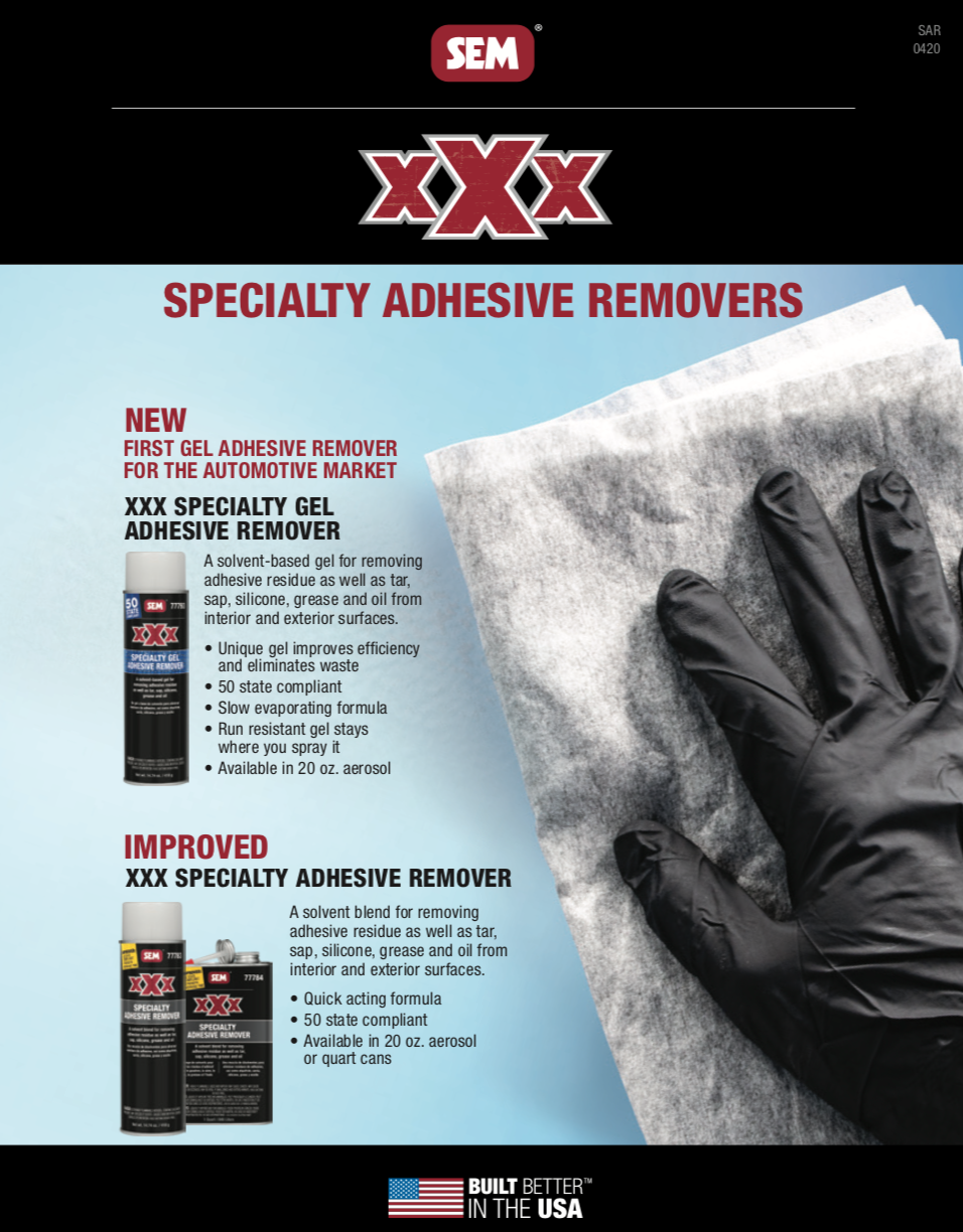 SEM Specialty Adhesive Removers