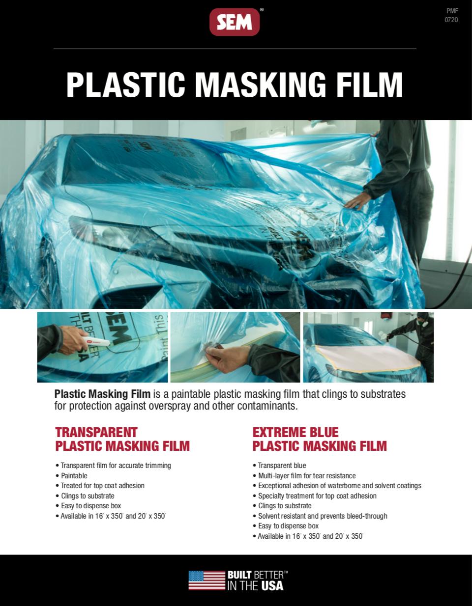 SEM Plastic Masking Film