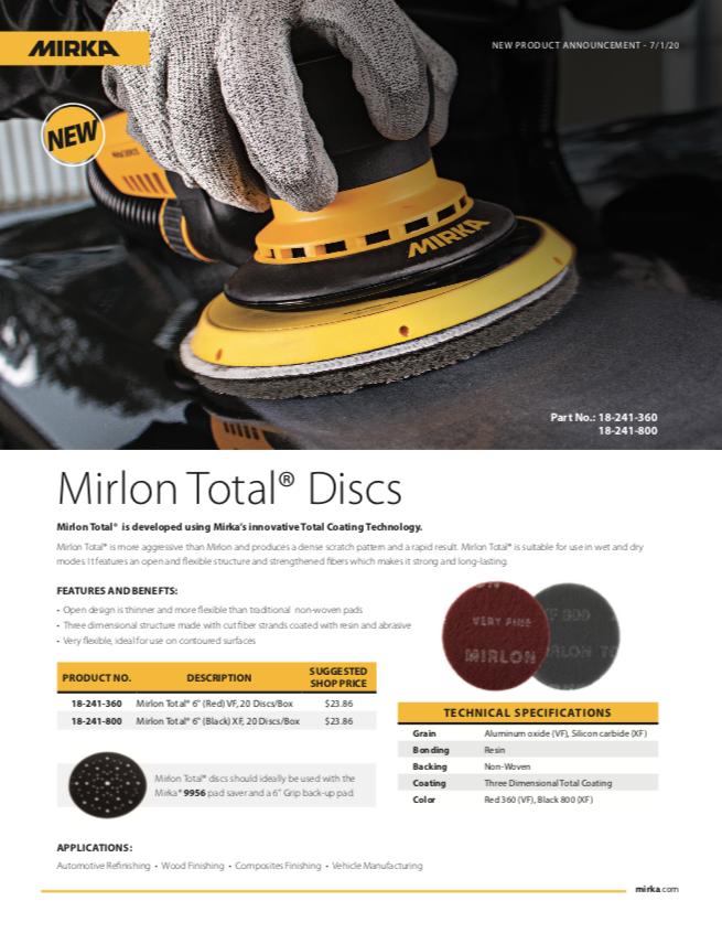 Mirka Mirlon Total Discs