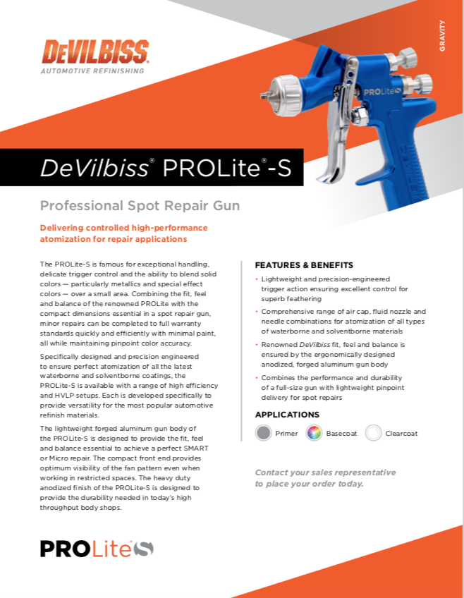 DeVilbiss Pro Lite S